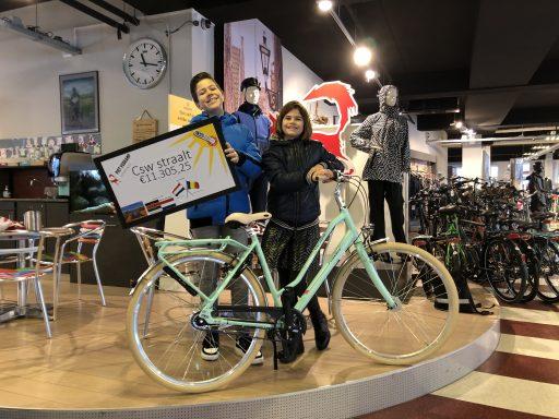Afbeelding #000 voor het verhaal De goede doelen van de CSW, of hoe Sem Euser fietsen wint