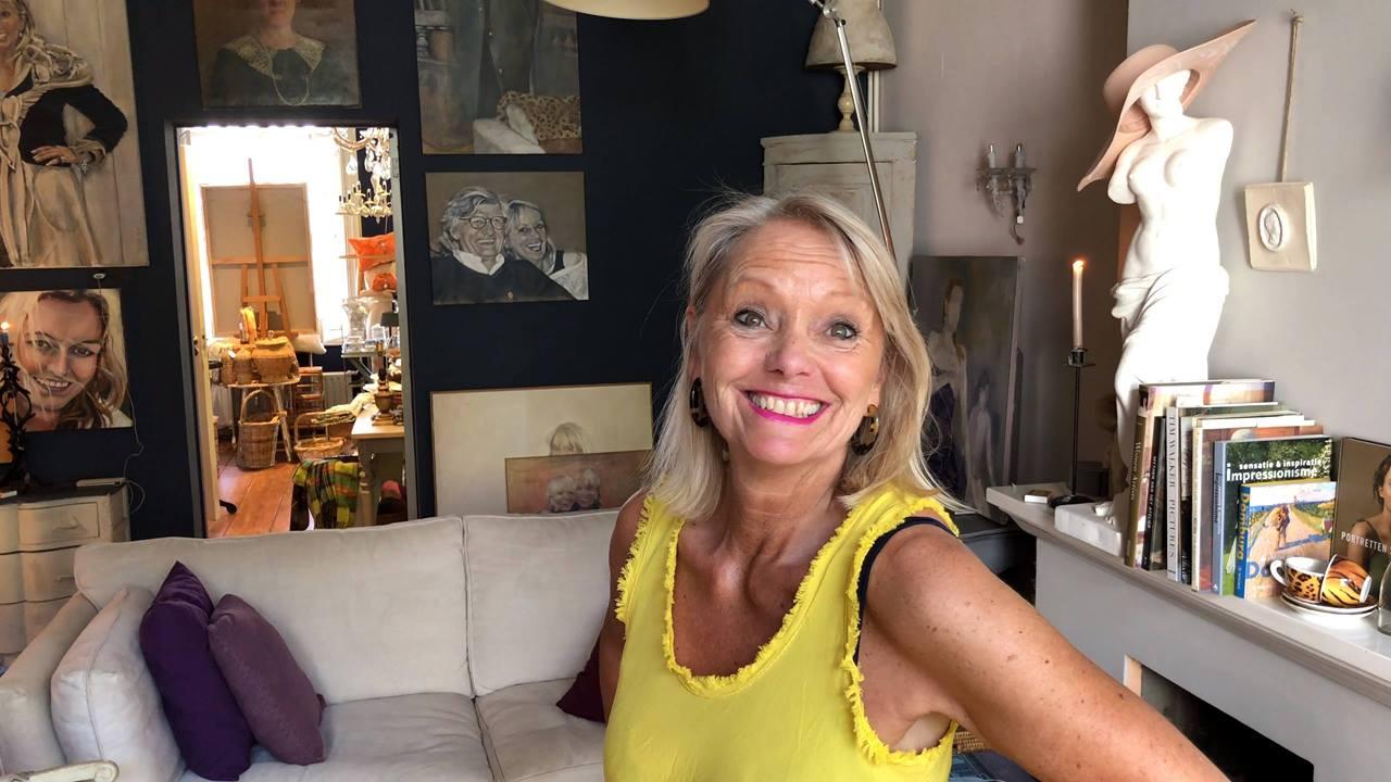 Afbeelding #000 voor het verhaal De Gouden Harpe: op bezoek in het atelier en de stadstuin van Frederika B.