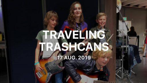 Afbeelding #000 voor het verhaal De jonge helden van Traveling Trashcans