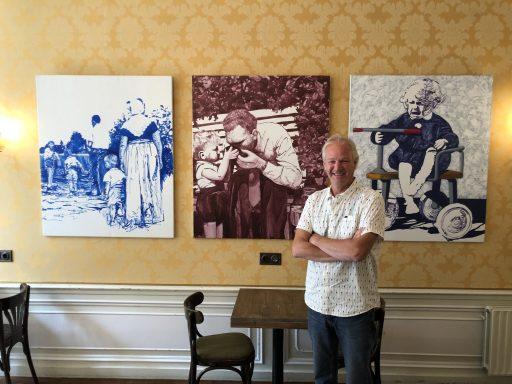 Afbeelding #001 voor het verhaal De kunst van Klein Café Cliché Middelburg