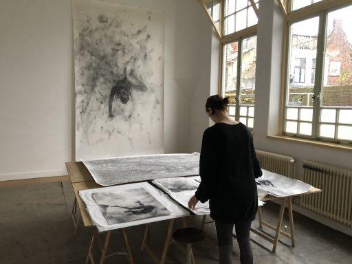 Afbeelding #001 voor het verhaal De kunstenaars van MAS/GHL in Middelburg: Femke Gerestein
