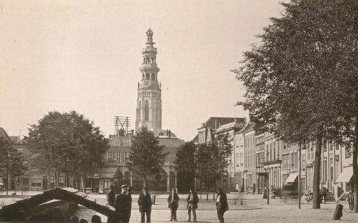Afbeelding #000 voor het verhaal De Lange Jan en de Graanbeurs omstreeks 1900