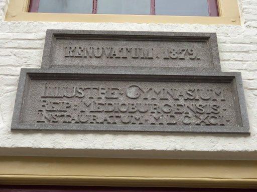 Afbeelding #004 voor het verhaal De Latijnse School in Middelburg op Monumenten.nl