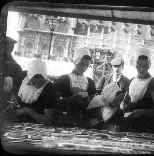 Afbeelding #000 voor het verhaal De Markt in Middelburg in 1905