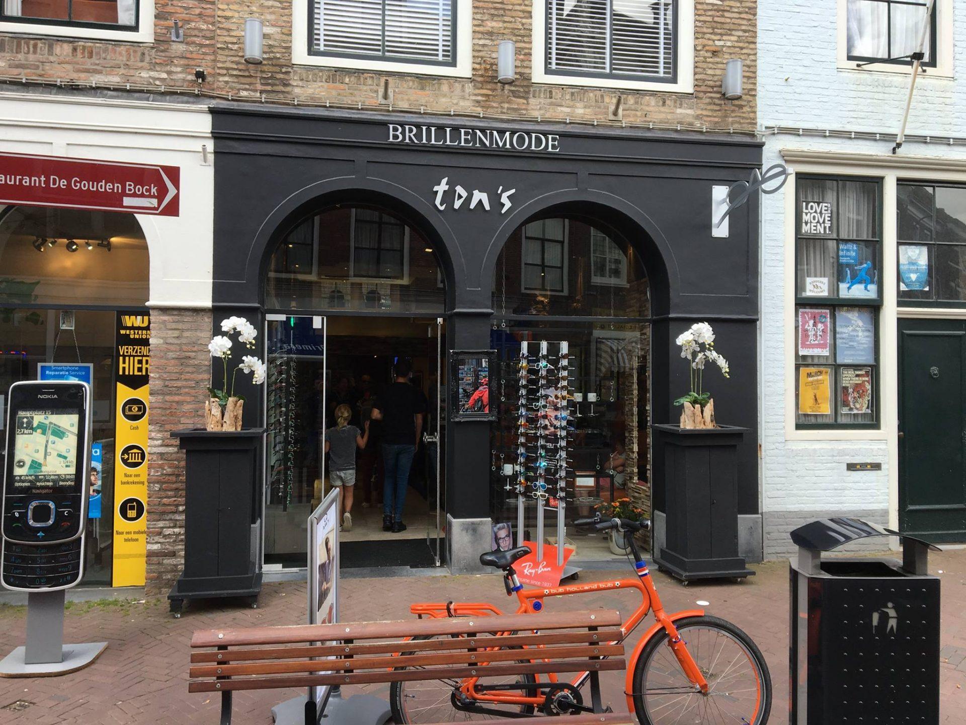 Afbeelding #000 voor het verhaal De metamorfose van Ton's Brillenmode in Middelburg