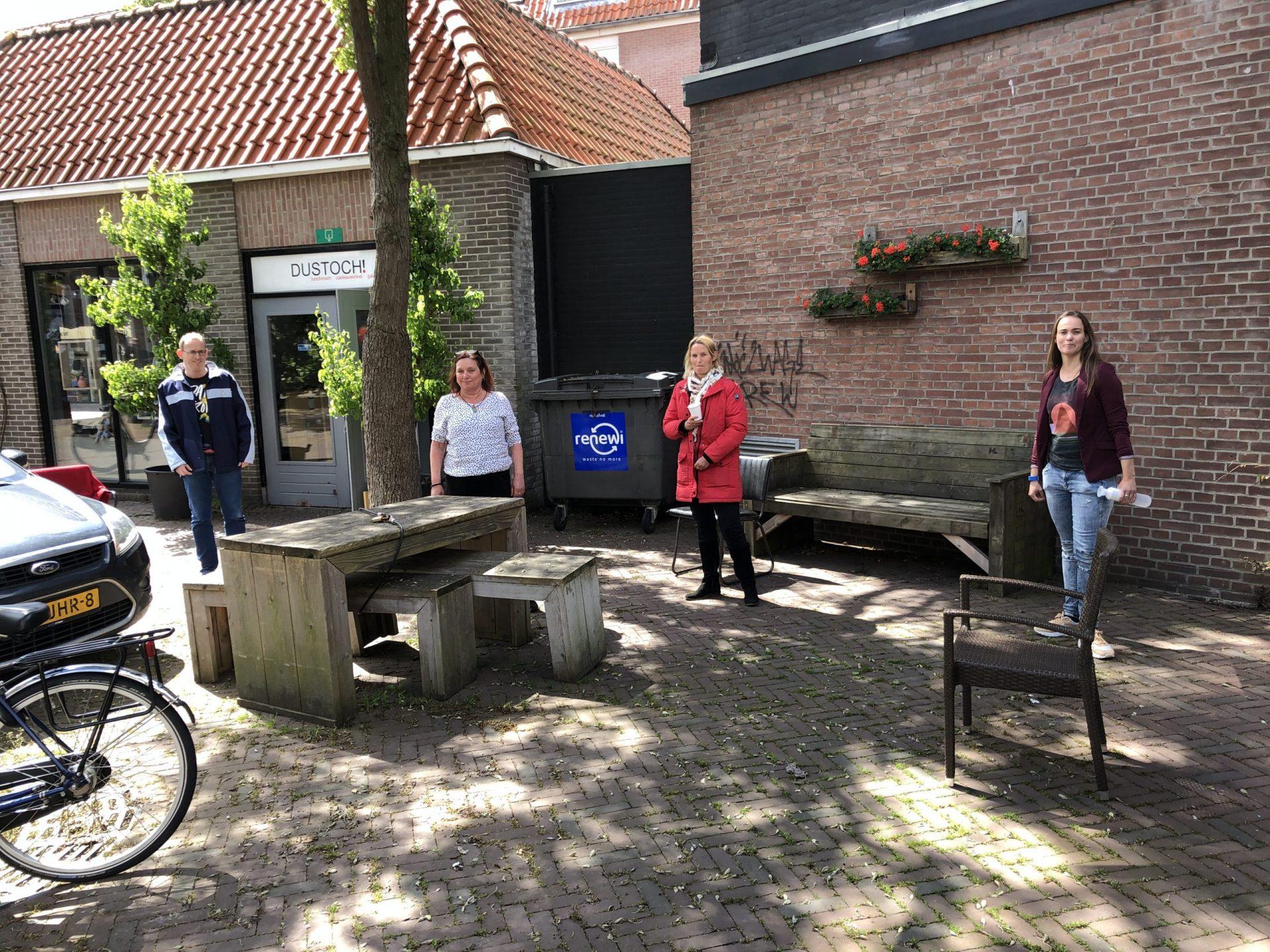Afbeelding #001 voor het verhaal De Middelburgse Horeca en de coronacrisis: lunchroom Dustoch 30 april 2020