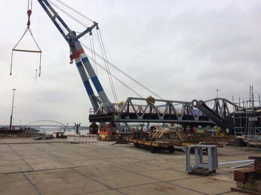 Afbeelding #000 voor het verhaal De Middelburgse Stationsbrug maakt het goed, in Krimpen aan den IJssel