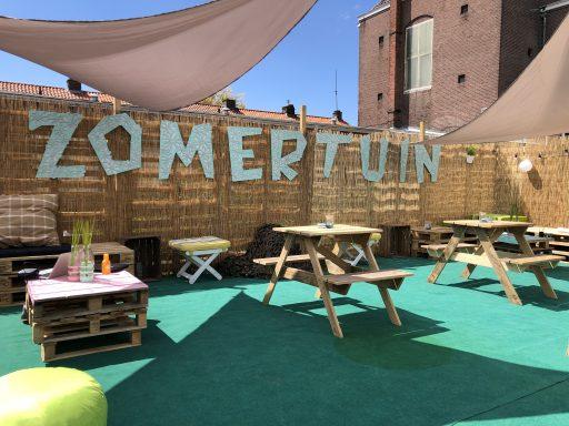 Afbeelding #002 voor het verhaal De Middelburgse Zomertuin geopend bij Cafe Schuttershof