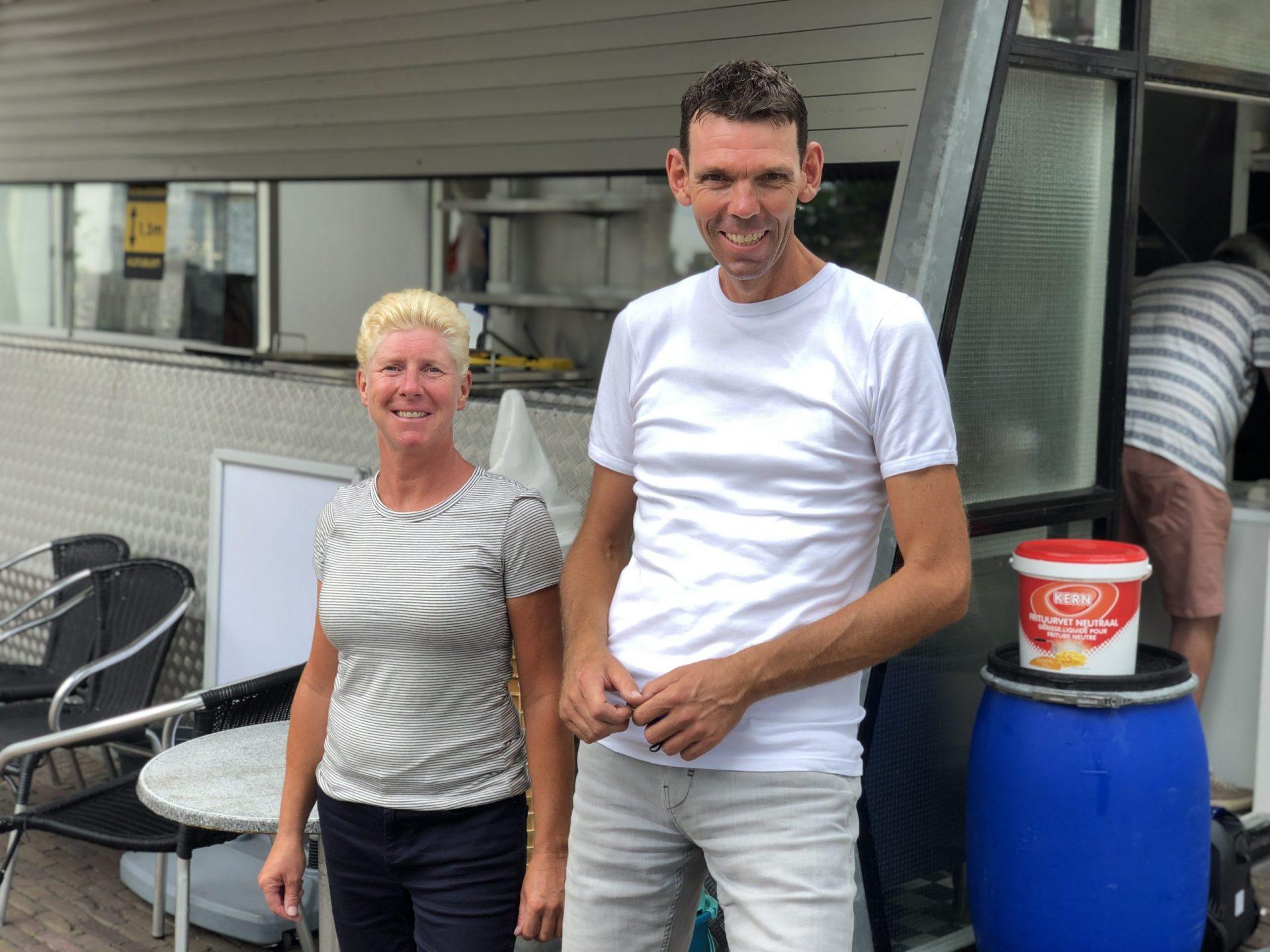 Afbeelding #001 voor het verhaal De nieuwe eigenaars van Frituur Damplein
