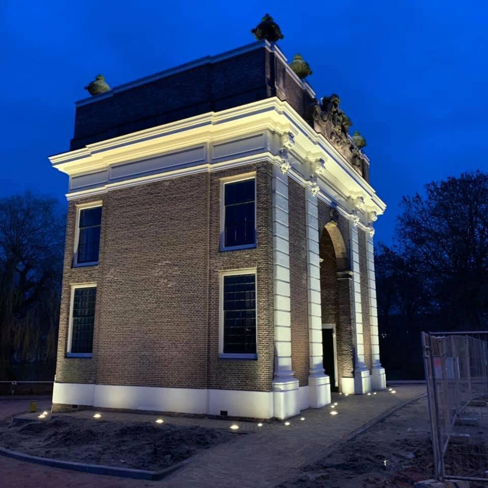 Afbeelding #000 voor het verhaal De nieuwe verlichting van de Koepoort in Middelburg