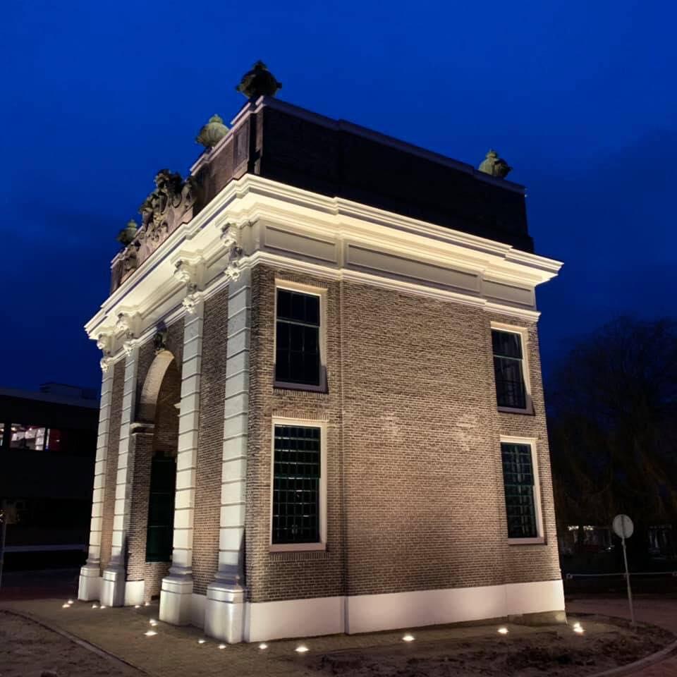 Afbeelding #001 voor het verhaal De nieuwe verlichting van de Koepoort in Middelburg