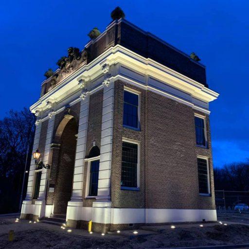 Afbeelding #003 voor het verhaal De nieuwe verlichting van de Koepoort in Middelburg
