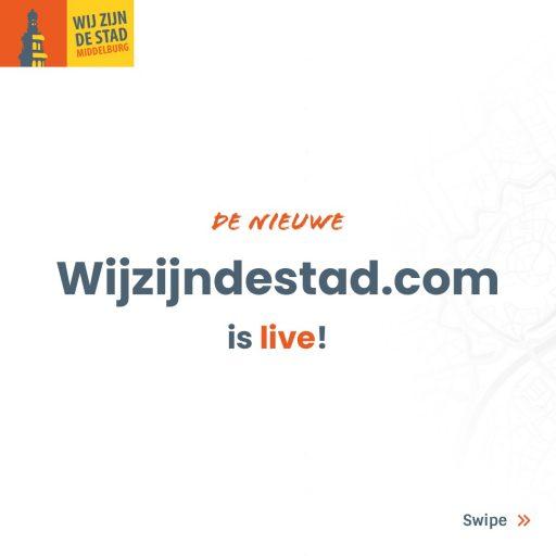 Afbeelding #000 voor het verhaal De nieuwe website van Wij zijn De Stad is live!
