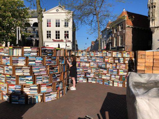 Afbeelding #001 voor het verhaal De opbouw van Middelburg Boekenstad 2018