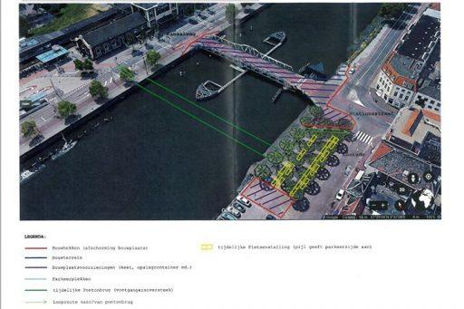 Afbeelding #000 voor het verhaal De planning van de werkzaamheden aan de Stationsbrug in Middelburg