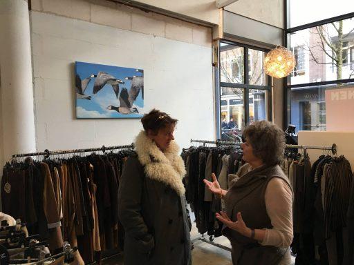 Afbeelding #001 voor het verhaal De pop-up voorbij:  Blaauw in Aktie en Nobs Fashion heropend in de Segeersstraat