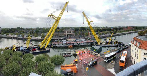 Afbeelding #002 voor het verhaal De reis van Stationsbrug Middelburg is begonnen