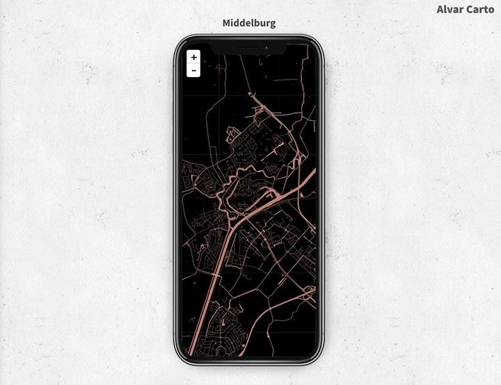 Afbeelding #000 voor het verhaal De Stad als achtergrondje op je telefoon