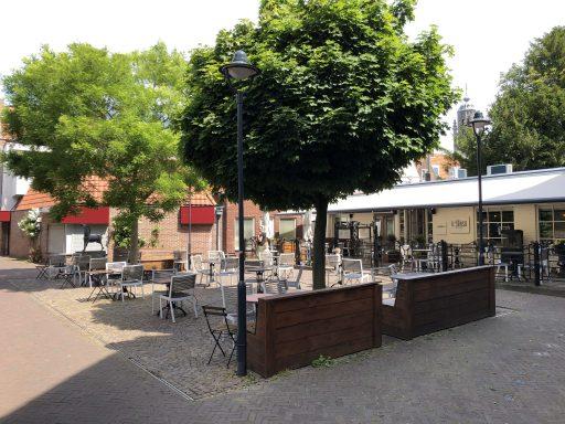Afbeelding #001 voor het verhaal De terrassen van Middelburg zijn weer geopend