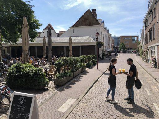 Afbeelding #002 voor het verhaal De terrassen van Middelburg zijn weer geopend