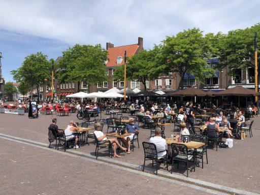 Afbeelding #003 voor het verhaal De terrassen van Middelburg zijn weer geopend