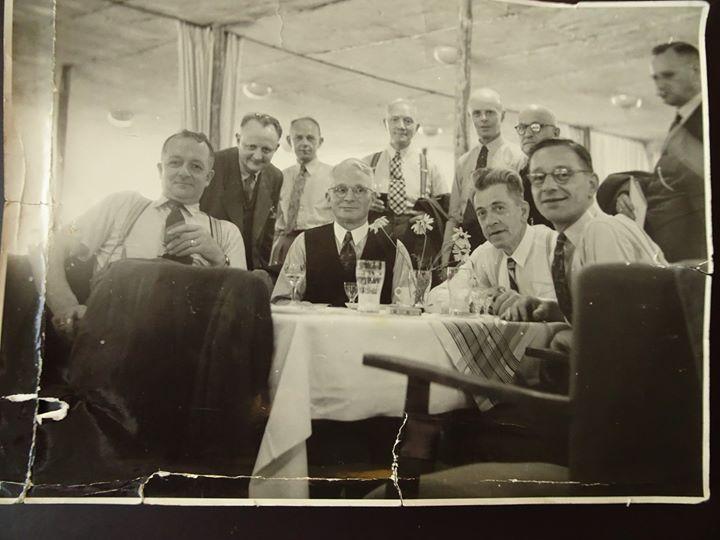 Afbeelding #000 voor het verhaal De Vereniging Handelsbelang Middelburg op excursie, juni 1950