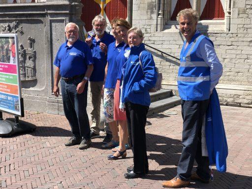 Afbeelding #003 voor het verhaal De vernieuwing bij Tourist Info en de stadsgidsen van Middelburg