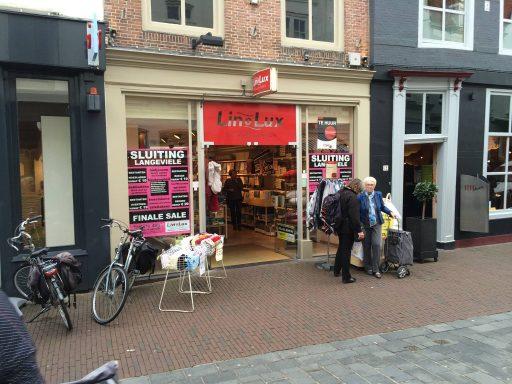Afbeelding #000 voor het verhaal De Vlijt Linnen sluit filiaal Langeviele Middelburg