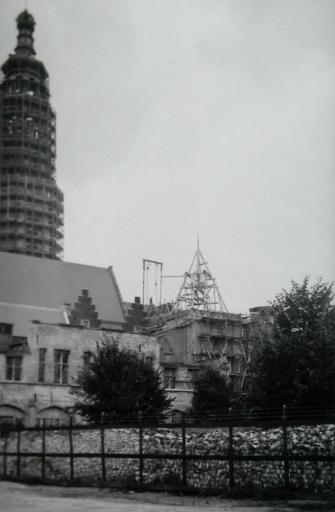 Afbeelding #003 voor het verhaal De wederopbouw van de Lange Jan in Middelburg, 1940-1955
