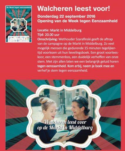 Afbeelding #000 voor het verhaal De Week tegen Eenzaamheid in Middelburg
