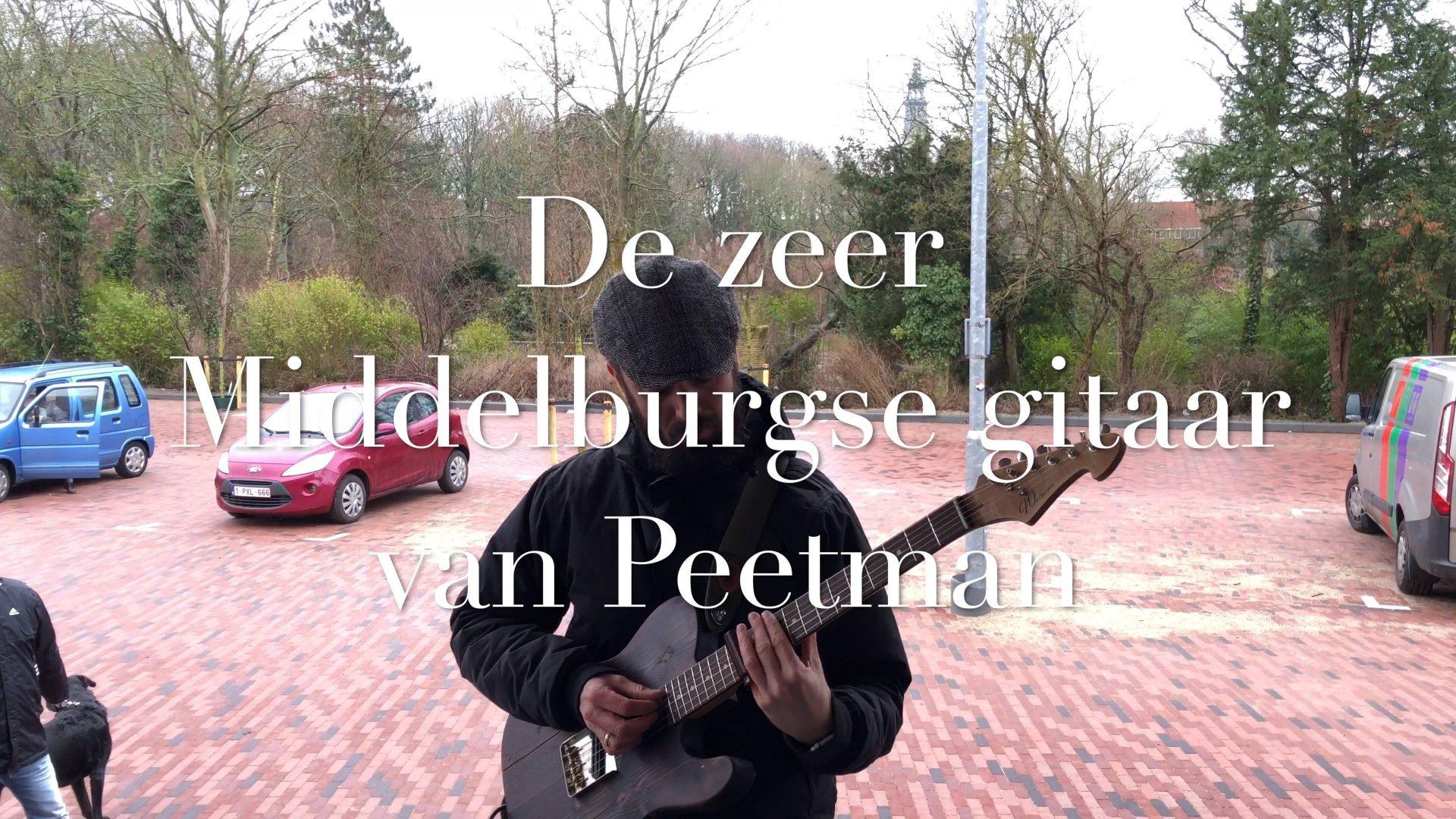 Afbeelding #000 voor het verhaal De zeer Middelburgse gitaar van Peetman