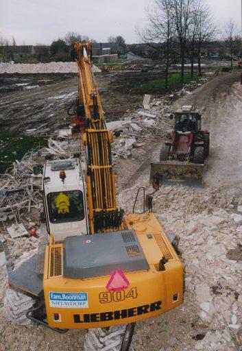Afbeelding #002 voor het verhaal December 2000: het opblazen van de flats in Middelburg-Zuid