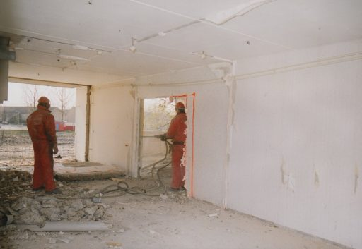 Afbeelding #004 voor het verhaal December 2000: het opblazen van de flats in Middelburg-Zuid