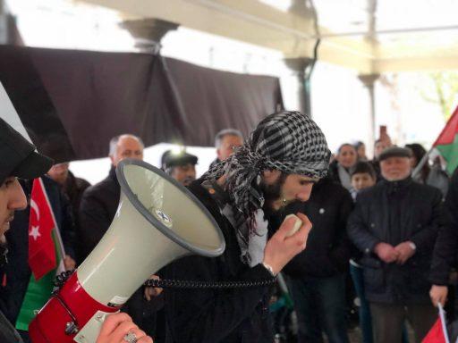 Afbeelding #003 voor het verhaal Demonstreren op het Damplein in Middelburg, 23 december 2017