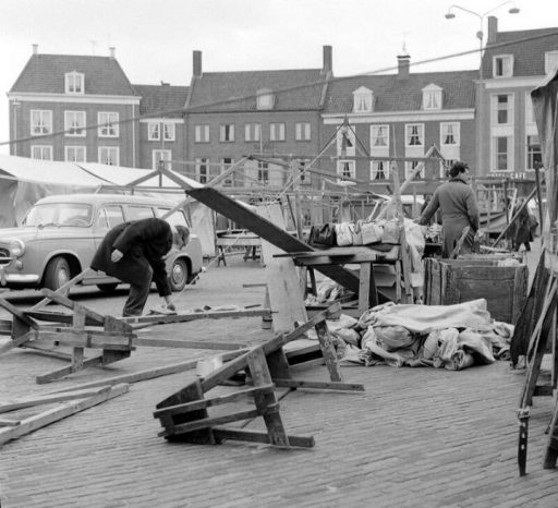 Afbeelding #000 voor het verhaal Derde dag Paasfair Middelburg afgeblazen