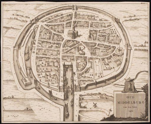 Afbeelding #000 voor het verhaal Digitalisering Zelandia Illustrata afgerond: de prachtige historische kaarten en plattegronden van Middelburg en Zeeland