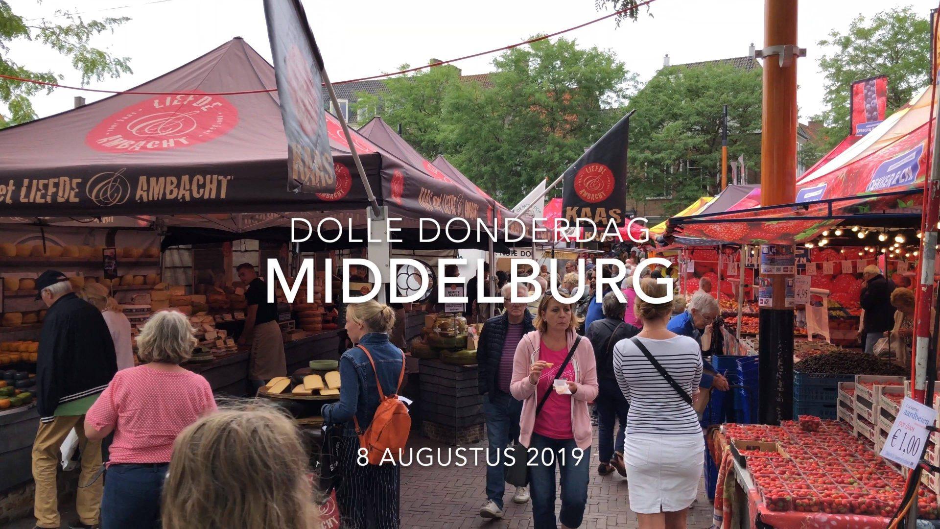 Afbeelding #000 voor het verhaal Dolle Donderdag Middelburg 2019: een impressie