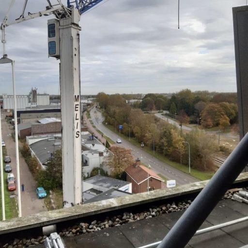 Afbeelding #002 voor het verhaal Donderdag Dakdag: het uitzicht vanaf het Stadskantoor in Middelburg