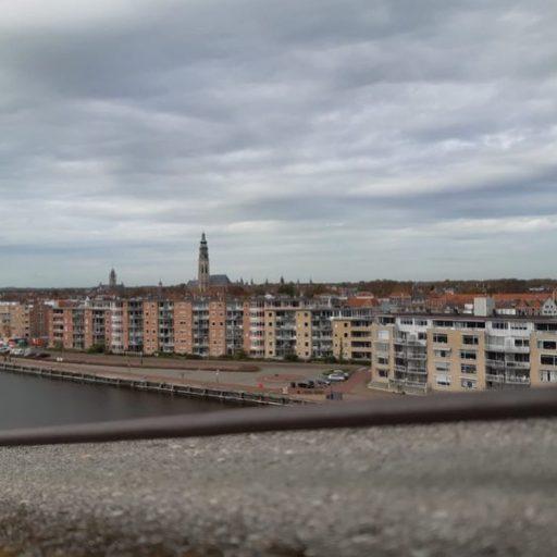 Afbeelding #003 voor het verhaal Donderdag Dakdag: het uitzicht vanaf het Stadskantoor in Middelburg