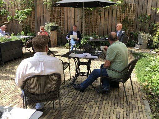 Afbeelding #002 voor het verhaal Doorpakken: de bespreking van de terrasverzoeken van de Middelburgse Horeca
