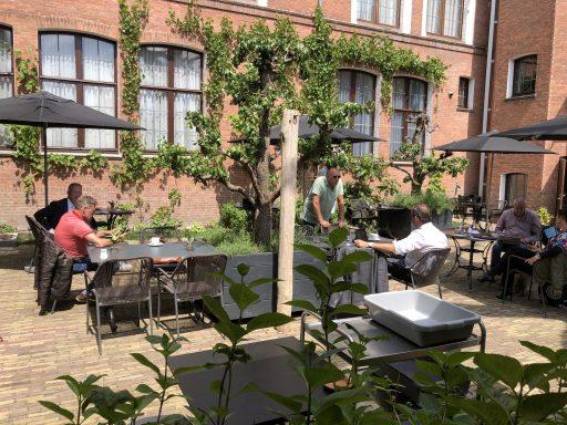 Afbeelding #003 voor het verhaal Doorpakken: de bespreking van de terrasverzoeken van de Middelburgse Horeca