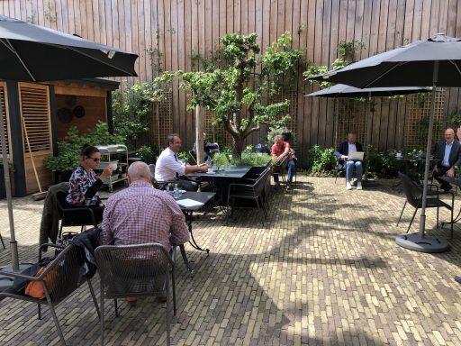Afbeelding #004 voor het verhaal Doorpakken: de bespreking van de terrasverzoeken van de Middelburgse Horeca