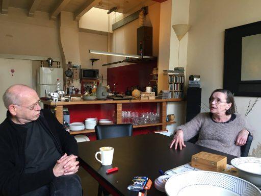 Afbeelding #001 voor het verhaal Een aangename kennismaking met Hans en Willy van Ruimte Caesuur