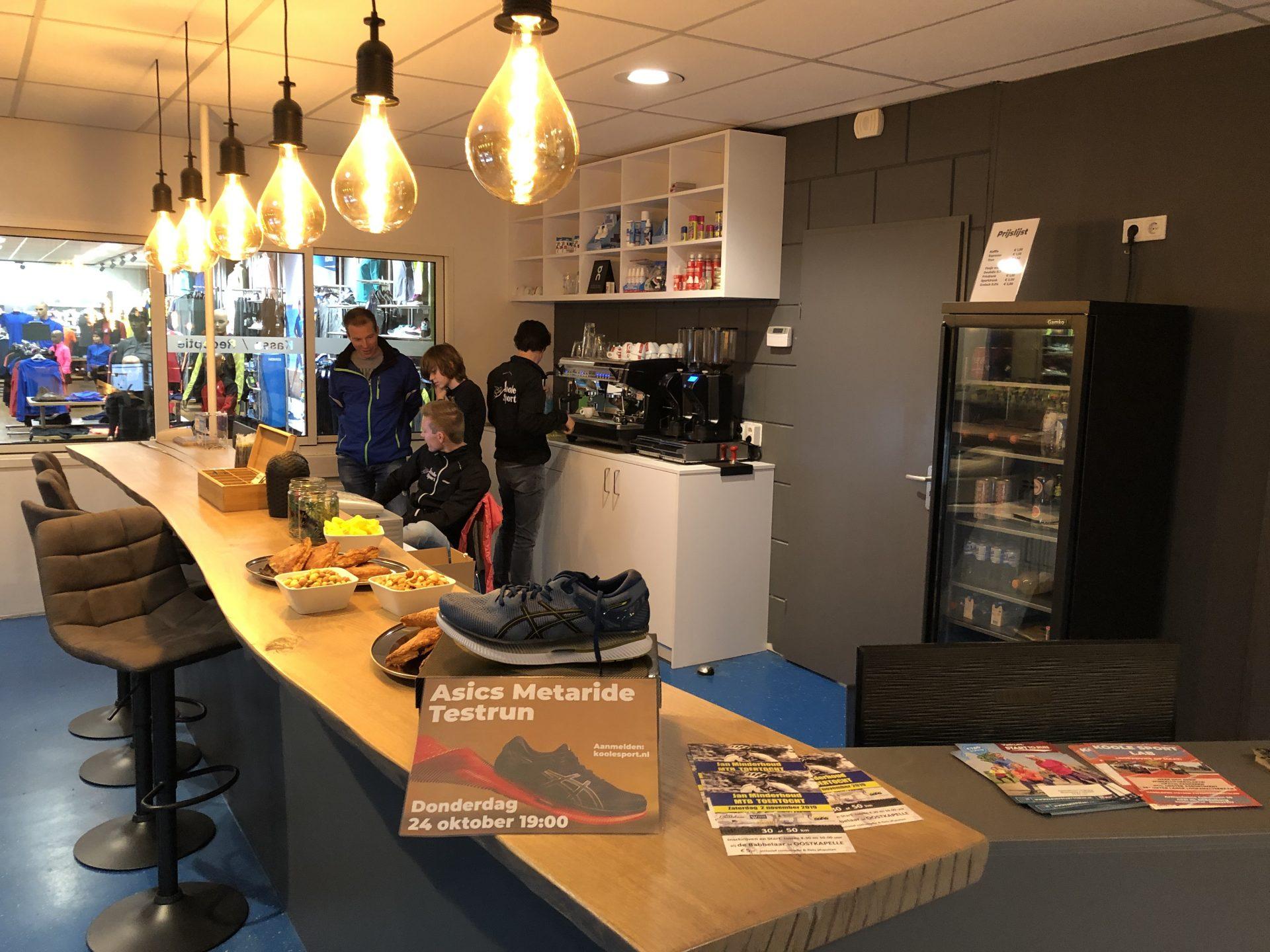Afbeelding #000 voor het verhaal Een Asics Metaride Testrun bij Koole Sport Middelburg