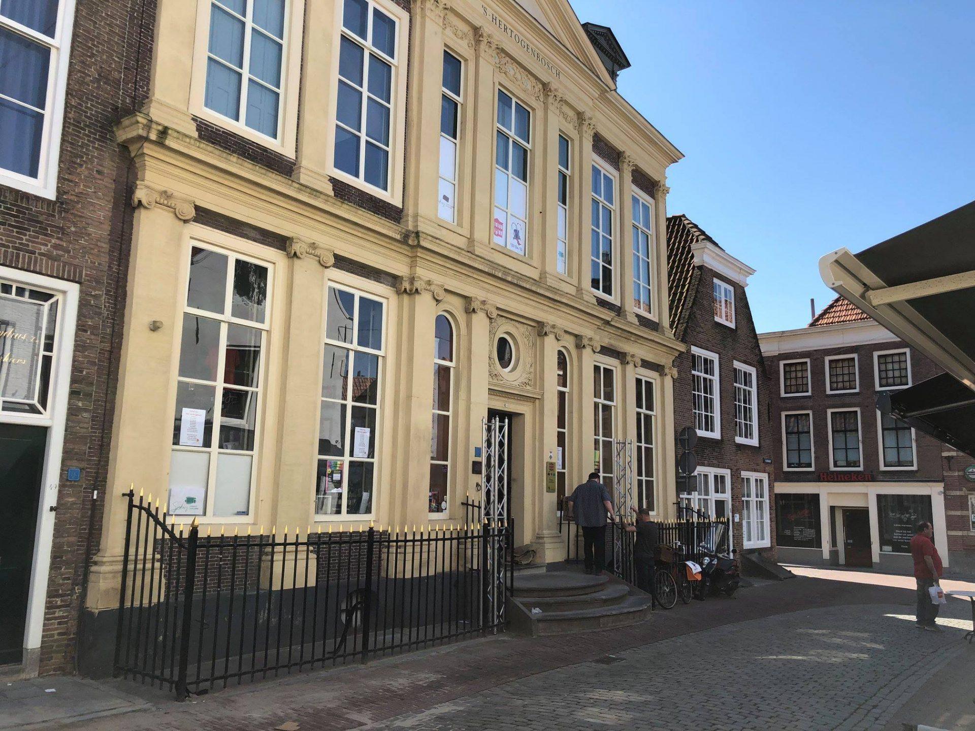 Afbeelding #000 voor het verhaal Een chocolademuseum in Huis 's-Hertogenbosch aan de Vlasmarkt