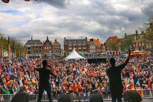 Afbeelding #003 voor het verhaal Een impressie van Koningsdag 2018 in Middelburg
