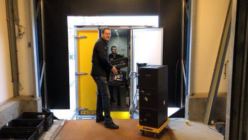 Afbeelding #000 voor het verhaal Een kijkje in de nieuwe bezorghub van Jumbo in Middelburg
