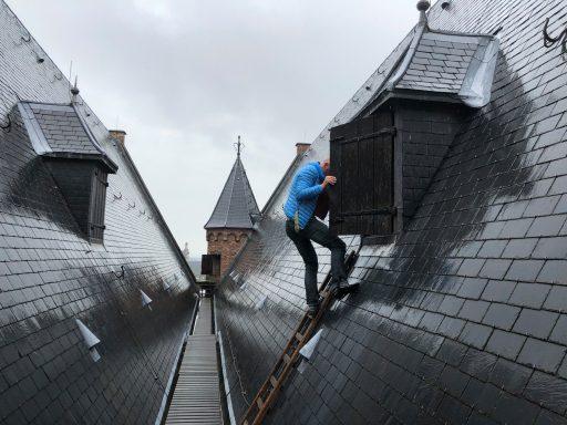 Afbeelding #000 voor het verhaal Een klein avontuur op het dak van de Nieuwe Kerk in Middelburg
