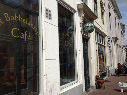 Afbeelding #000 voor het verhaal Een nieuw café in de Vlasmarkt in Middelburg, vanaf 1 april