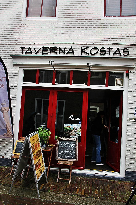 Afbeelding #000 voor het verhaal Een nieuwe eigenaar voor Taverna Kostas in de Sint Janstraat in Middelburg